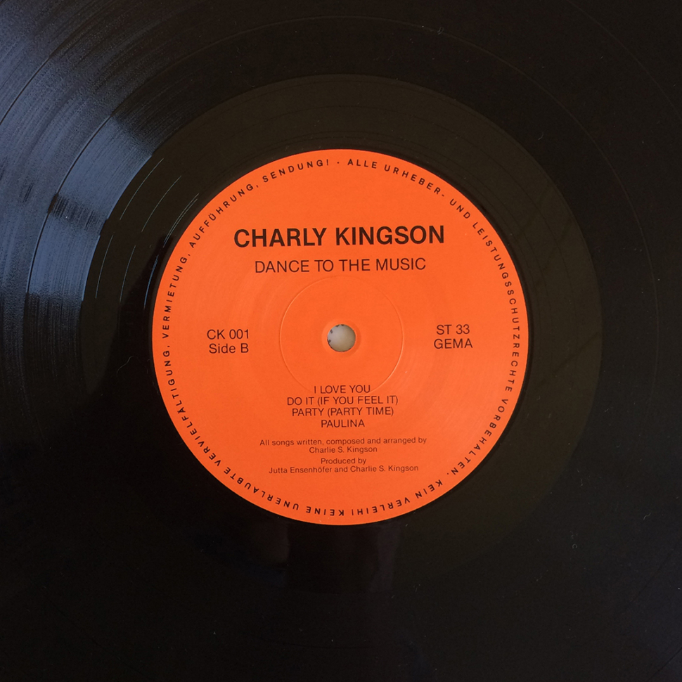 Charly Kingson ‎– Dance To The Music