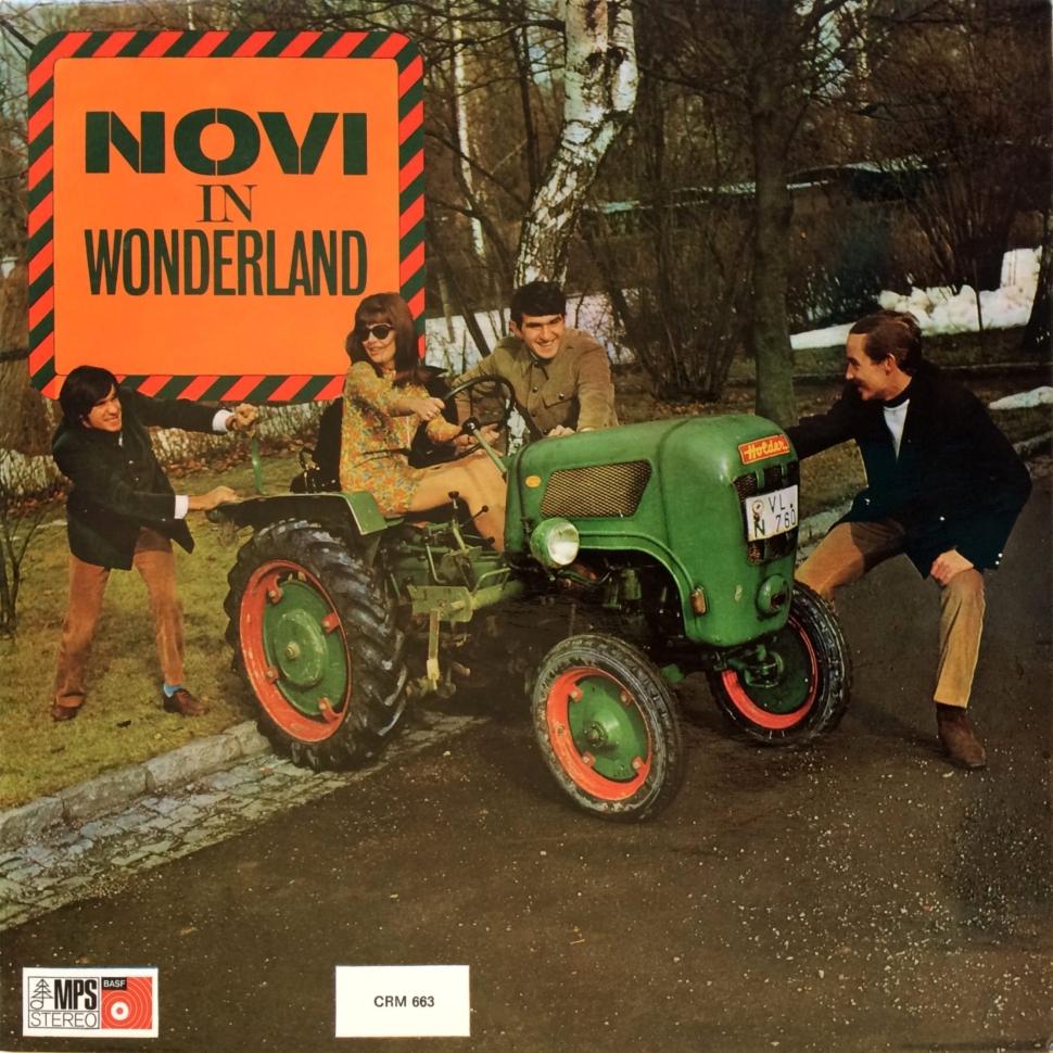 Novi Quartet – Novi In Wonderland
