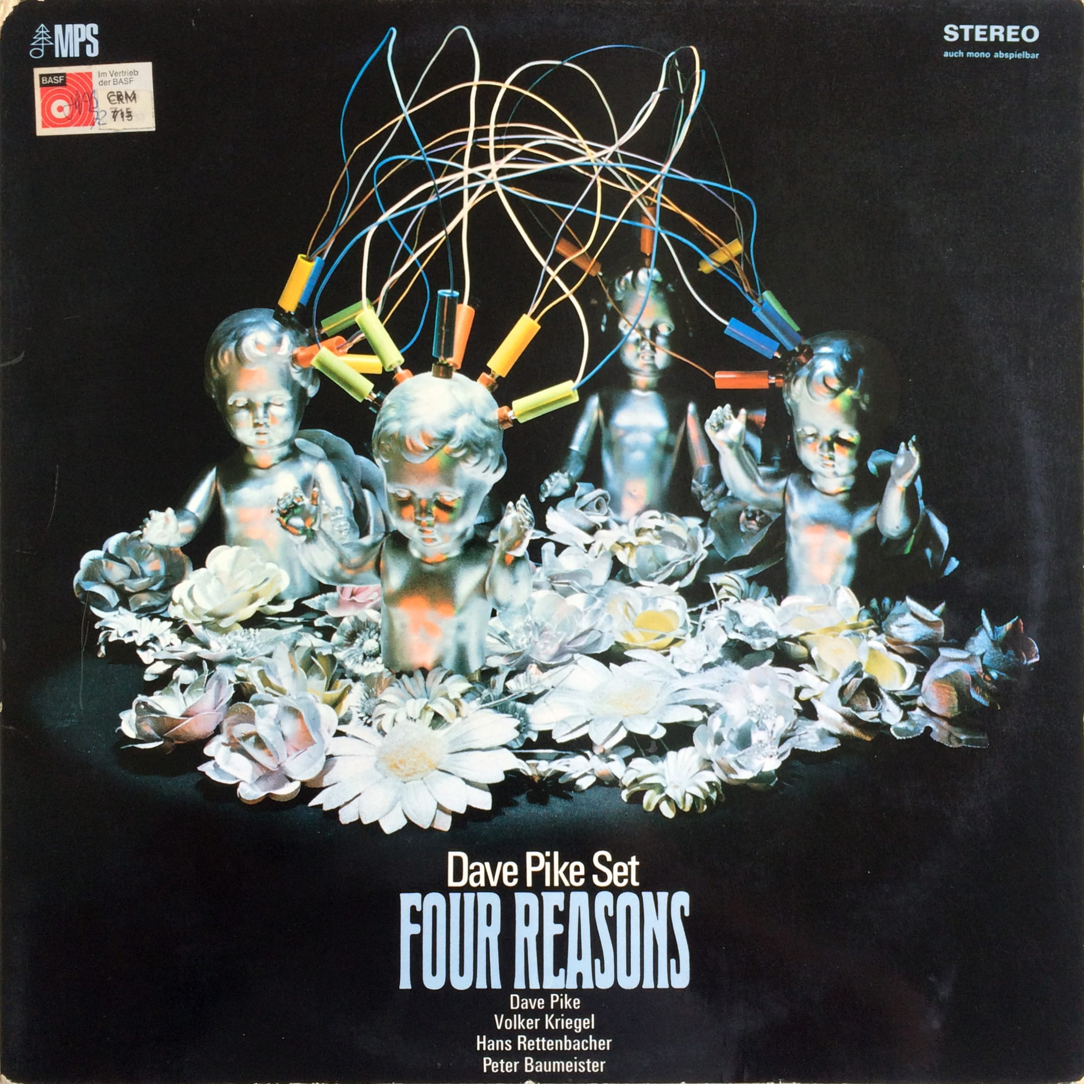 Dave Pike Set ‎– Four Reasons 1969 MPS Records CRM 715 ‎