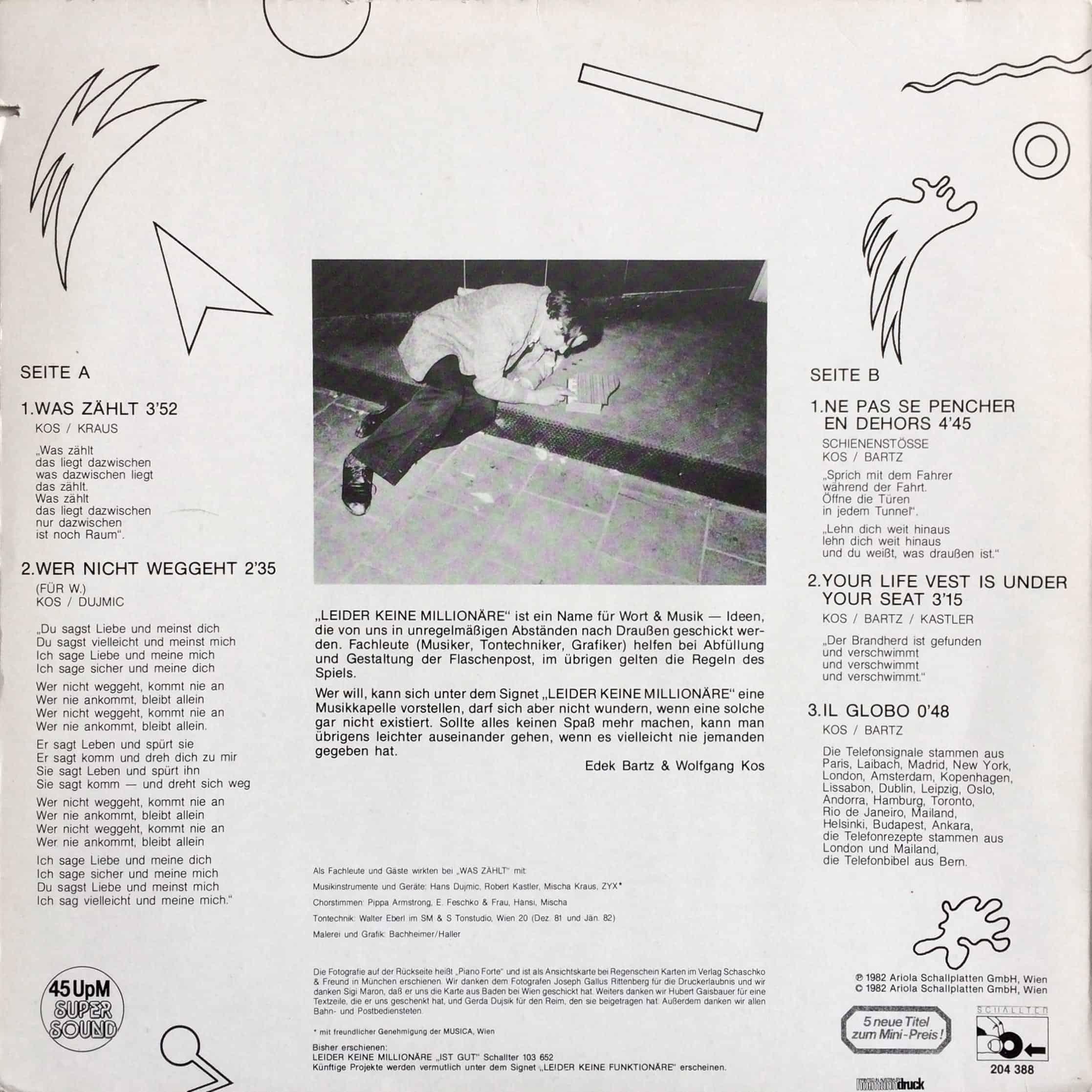 Leider keine Millionäre - Was zählt 1982 Schallter – 204 388