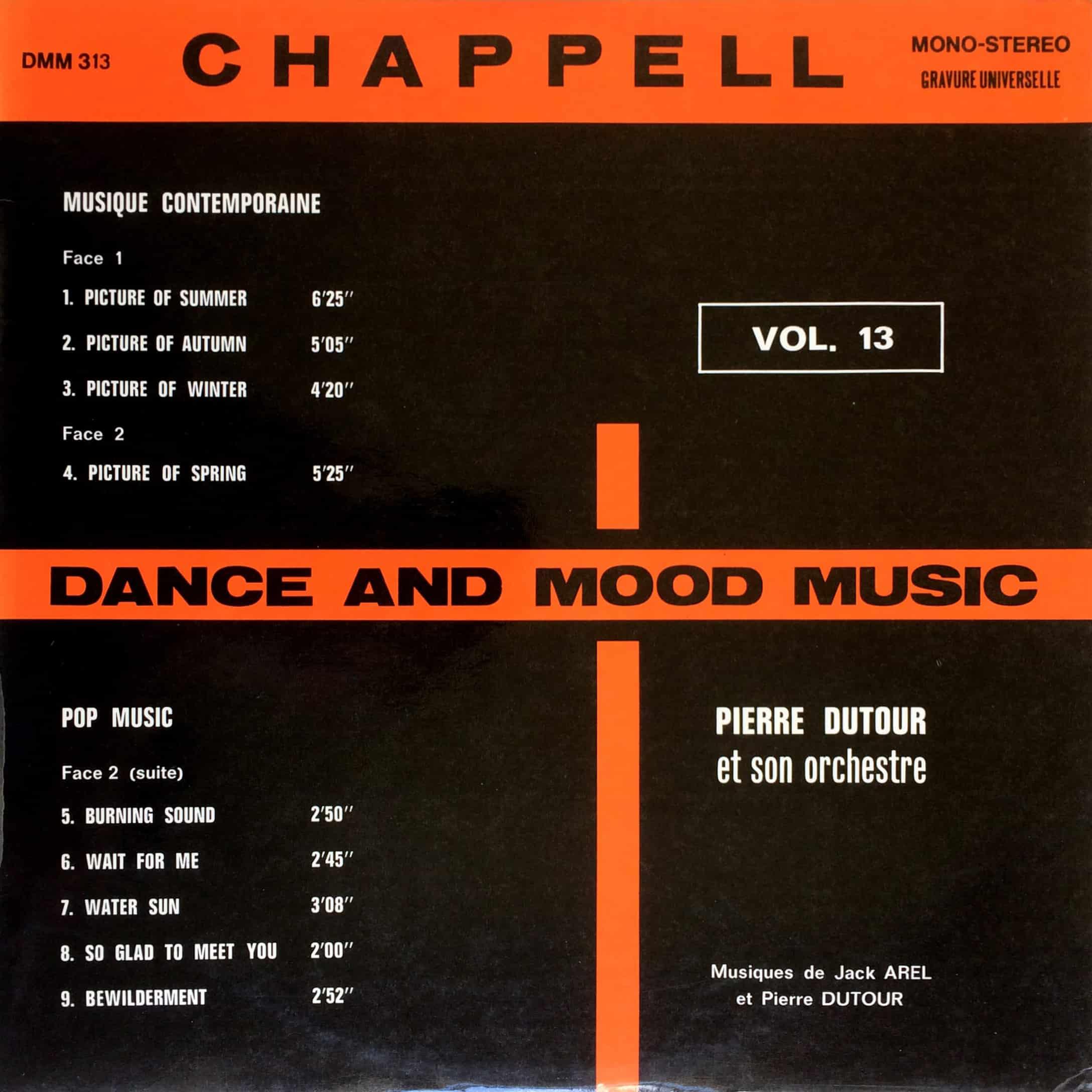 Pierre Dutour & Son Orchestre – Dance & Mood Music Vol. 13