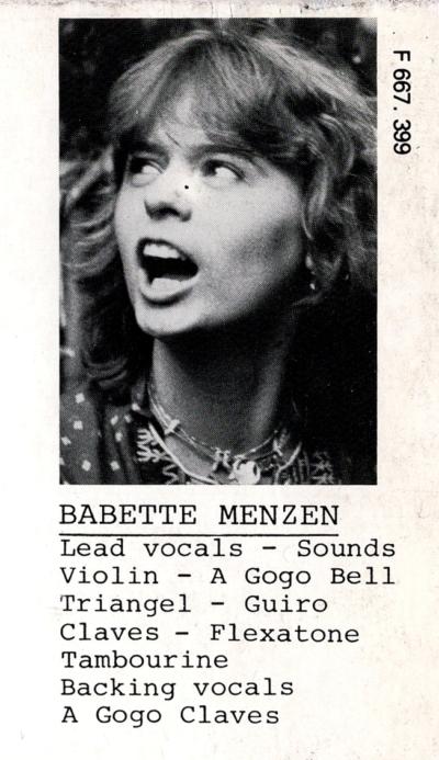 Babette Menzen
