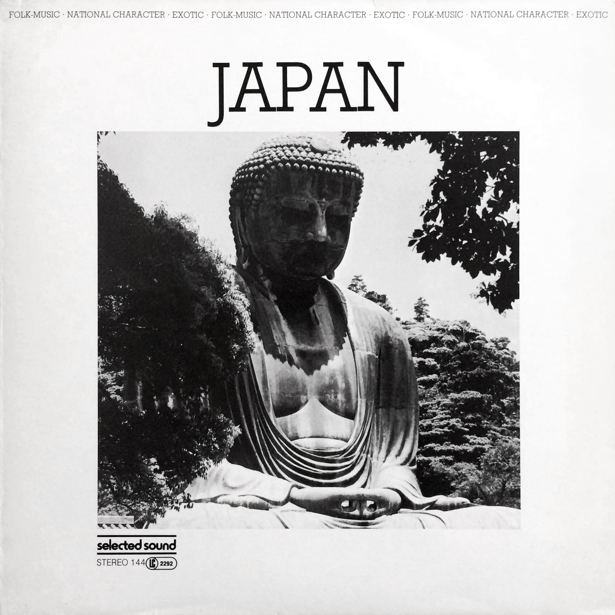 Selected Sound ‎– Folklore-Serie JAPAN – Selected Sound ‎– ST 144 Germany 1983 Victor Cavini (pseudonym used by Gerhard Trede for Library Music compositions).