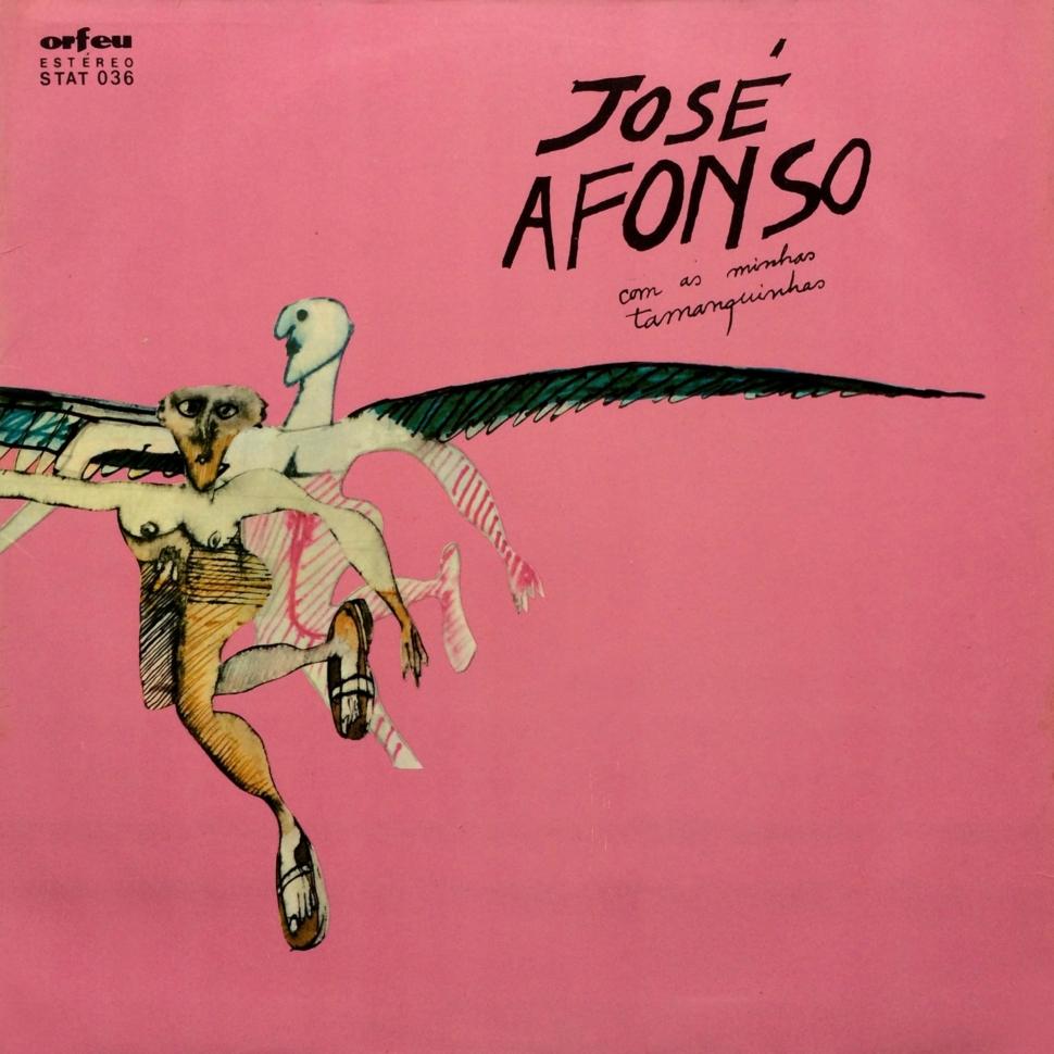 José Afonso  Com As Minhas Tamanquinhas –  Orfeu – STAT 036 Portugal 1976