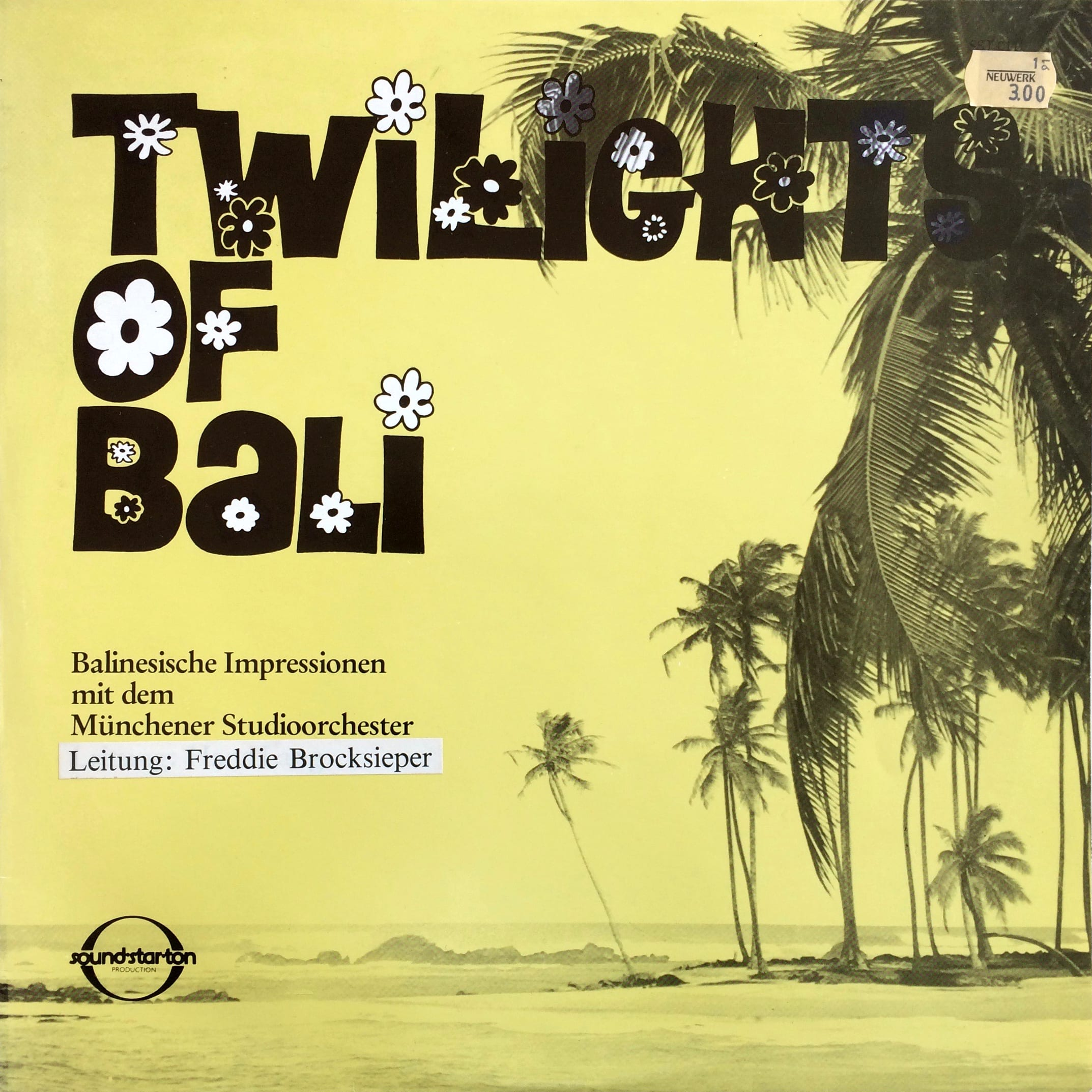 Münchner Studioorchester TWILIGHTS OF BALI – Sound-Star-Ton ‎– SST 0141 Germany 1979
