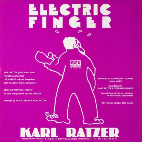 Karl Ratzer – Electric Finger