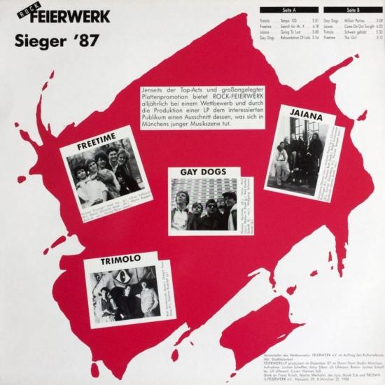 Rock Feierwerk – Sieger '87