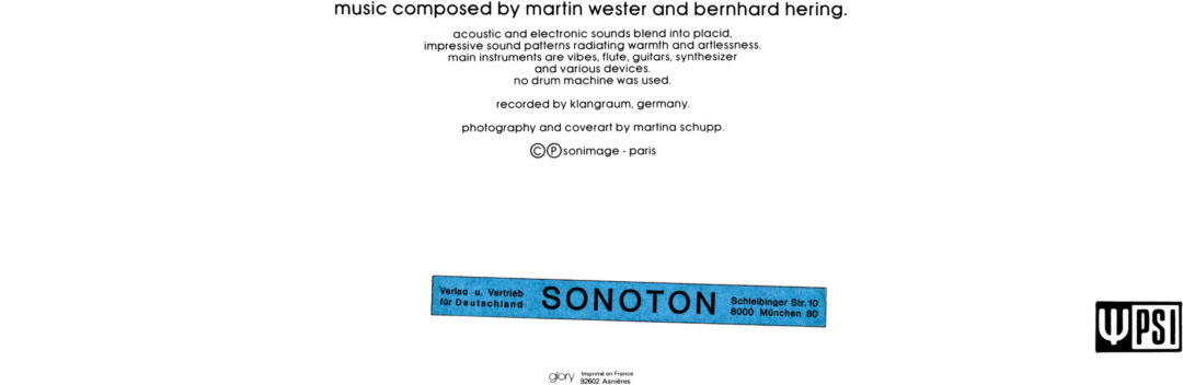 Martin Wester & Bernhard Hering – Balance