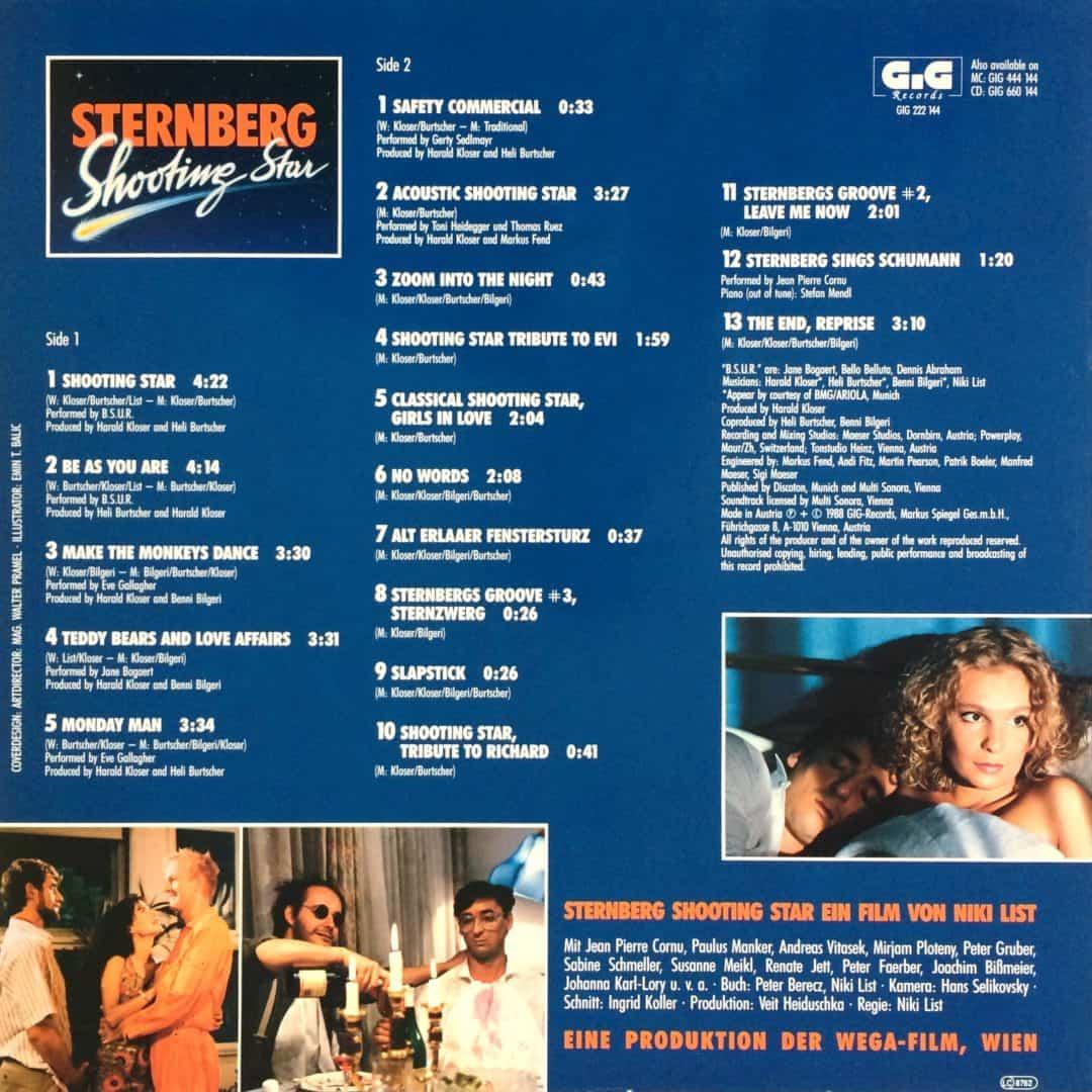 Sternberg Shooting Star – Original Soundtrack 1988