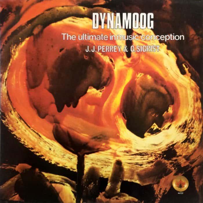 J.J. Perrey & G. Sigrist  DYNAMOOG – Mondiophone – MON 33, Crea Sound Ltd. – 46.532 France 1976