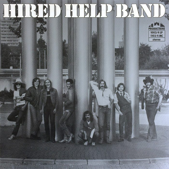 Hired Help Band HIRED HELP BAND – HHB Productions ‎– 1003/4 LP Germany 1980