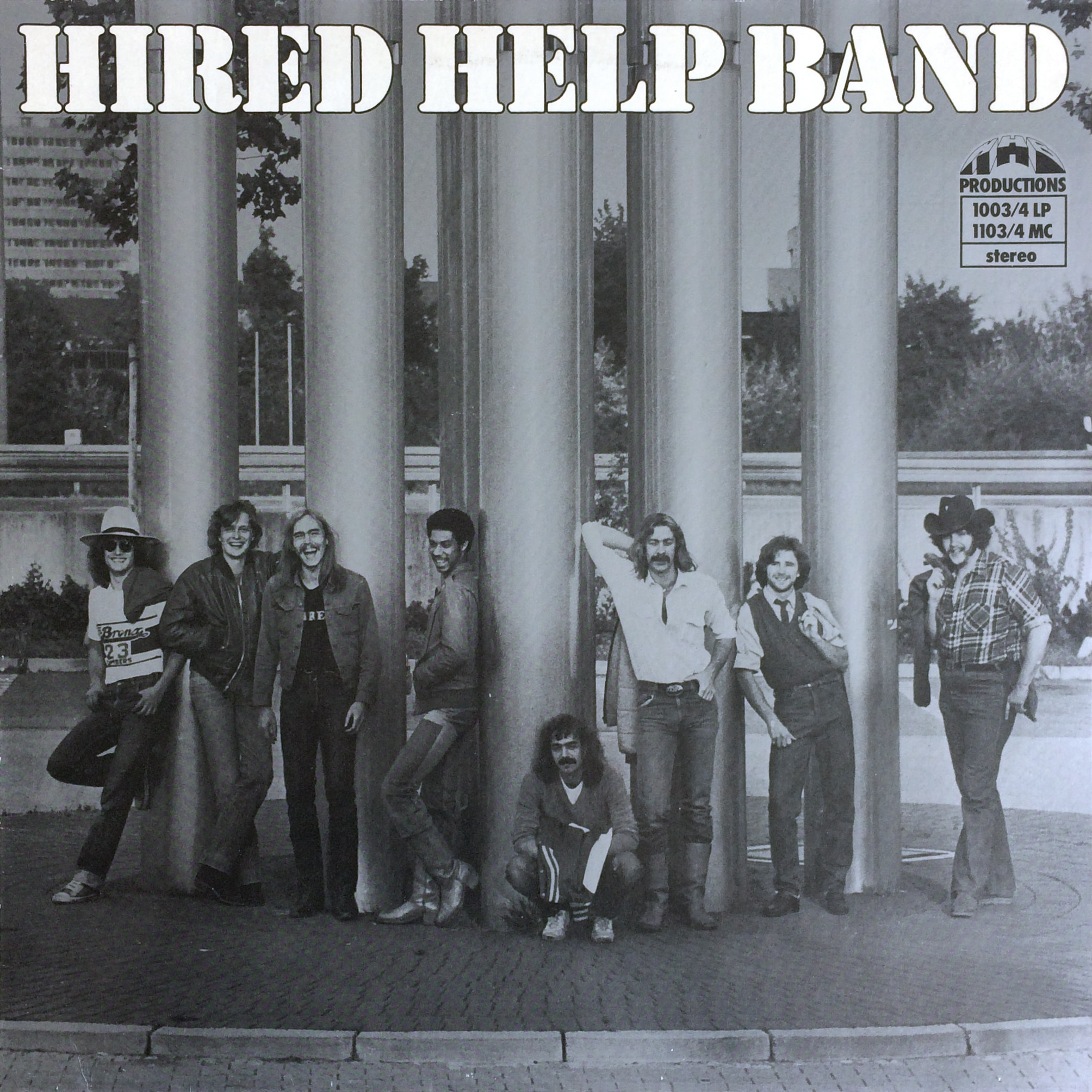 Hired Help Band HIRED HELP BAND – HHB Productions – 1003/4 LP Germany 1980